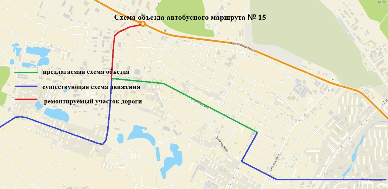 О продлении ограничения движения транспортных средств по Вилюйскому транспортному кольцу города Якутска
