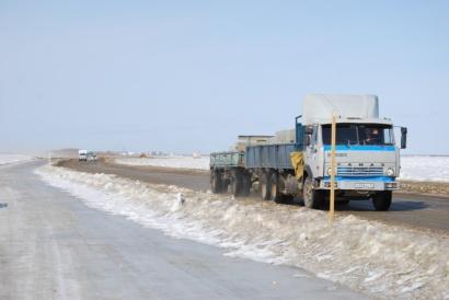 Поэтапное снижение грузоподъемности и закрытия сезонных автомобильных дорог