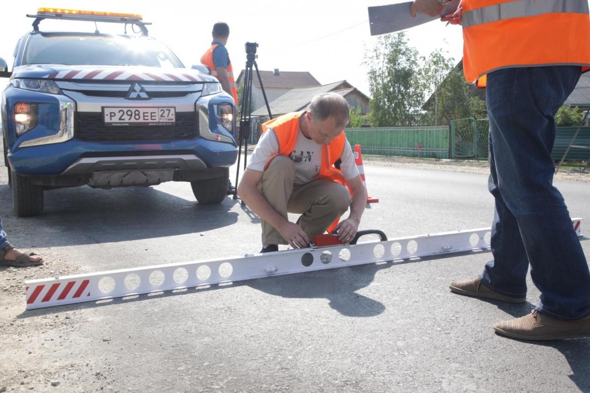 Эксперты Росдорнии высоко оценили качество ремонта дорог в Якутске