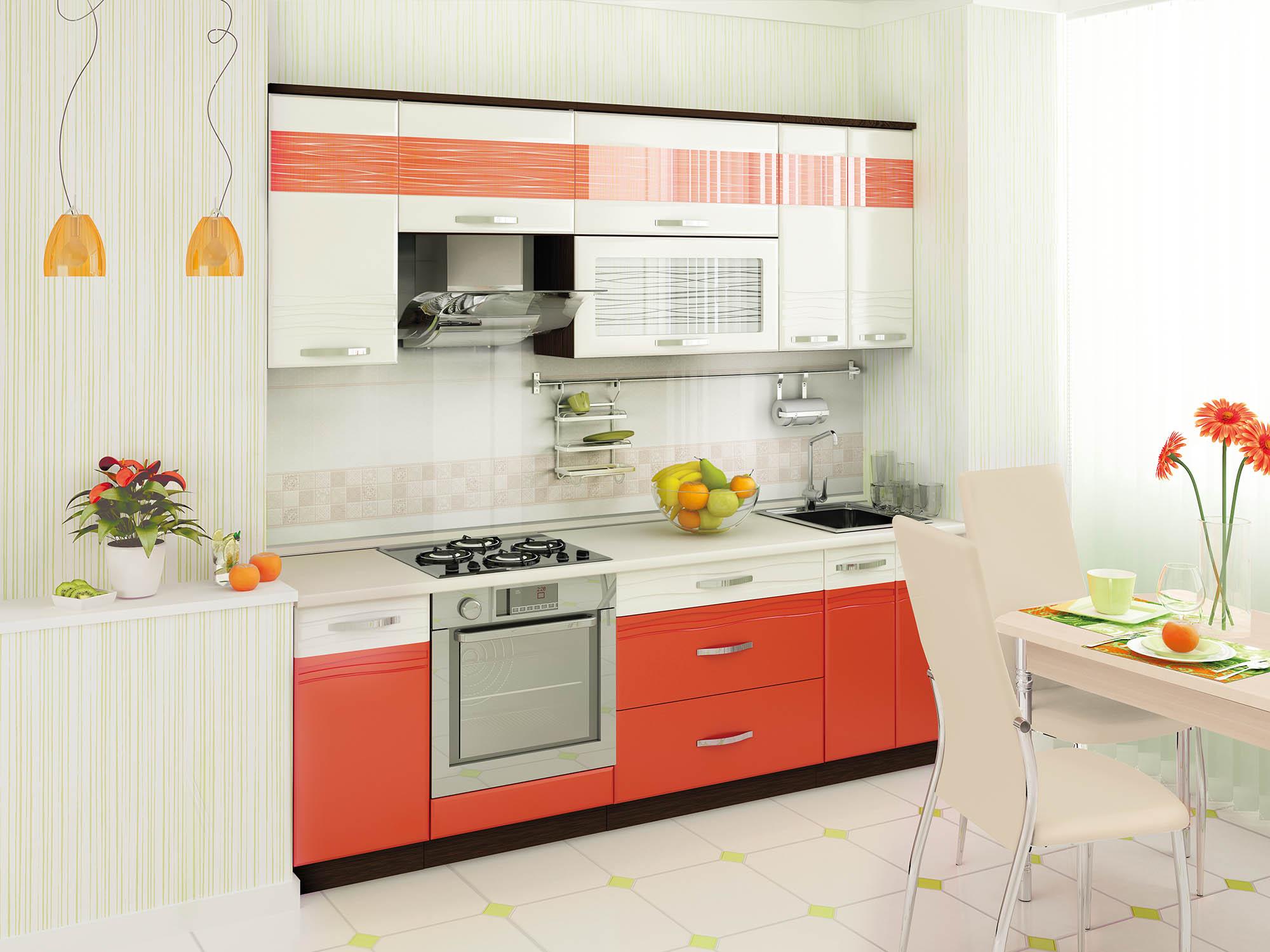 Кухня Оранж 240