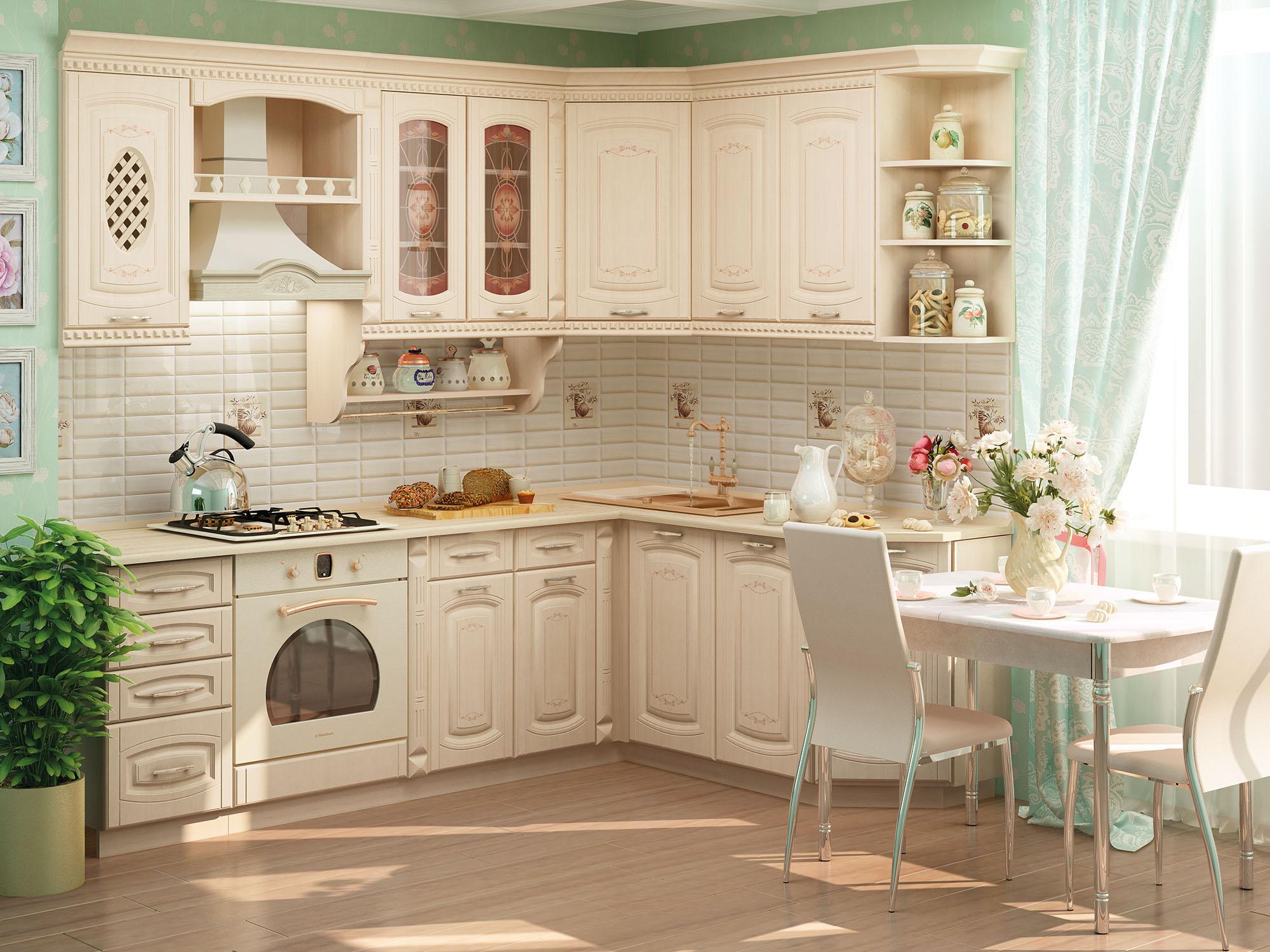 Кухня угловая Глория 3 240*170