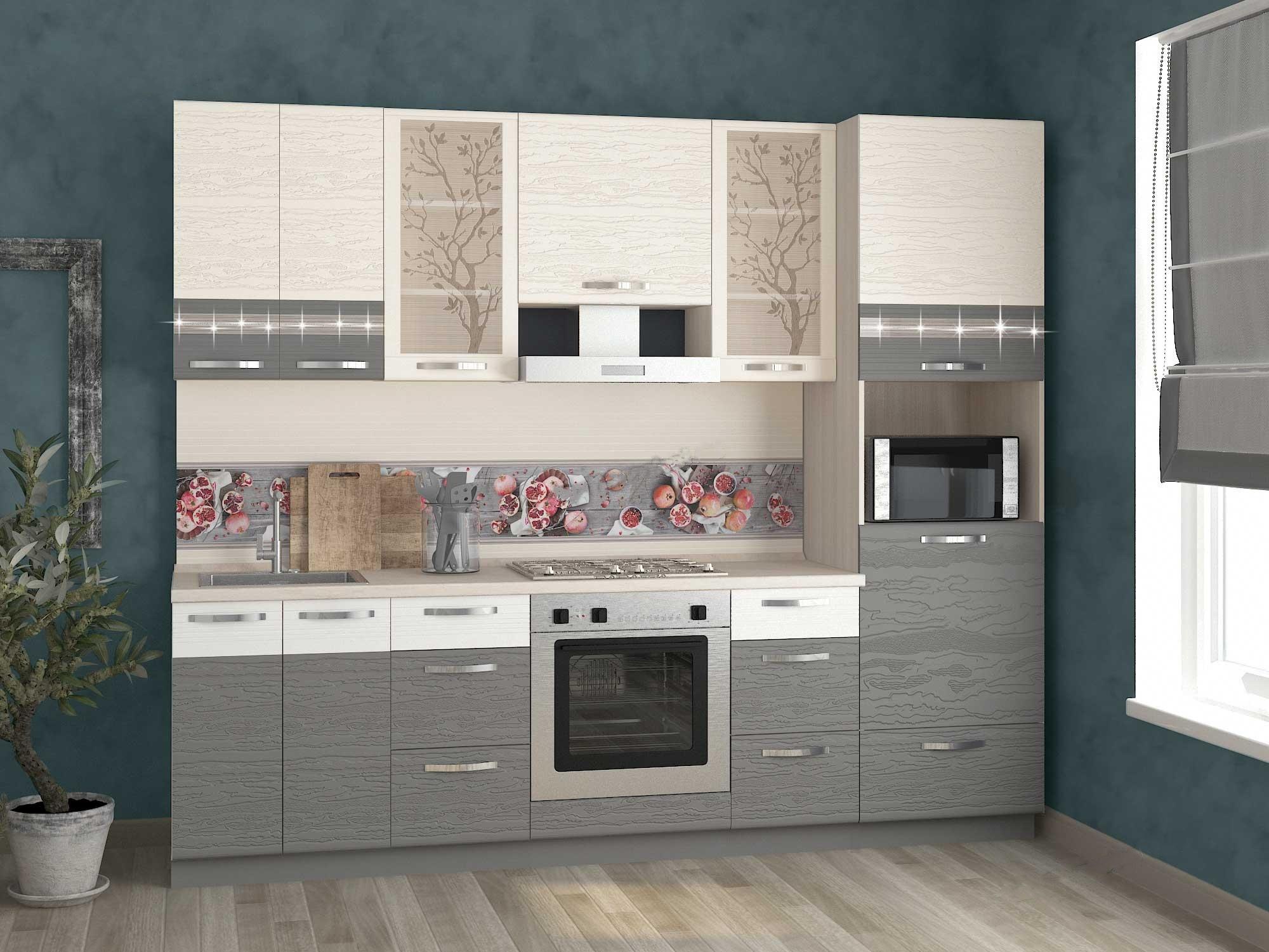 Кухня Графит 260