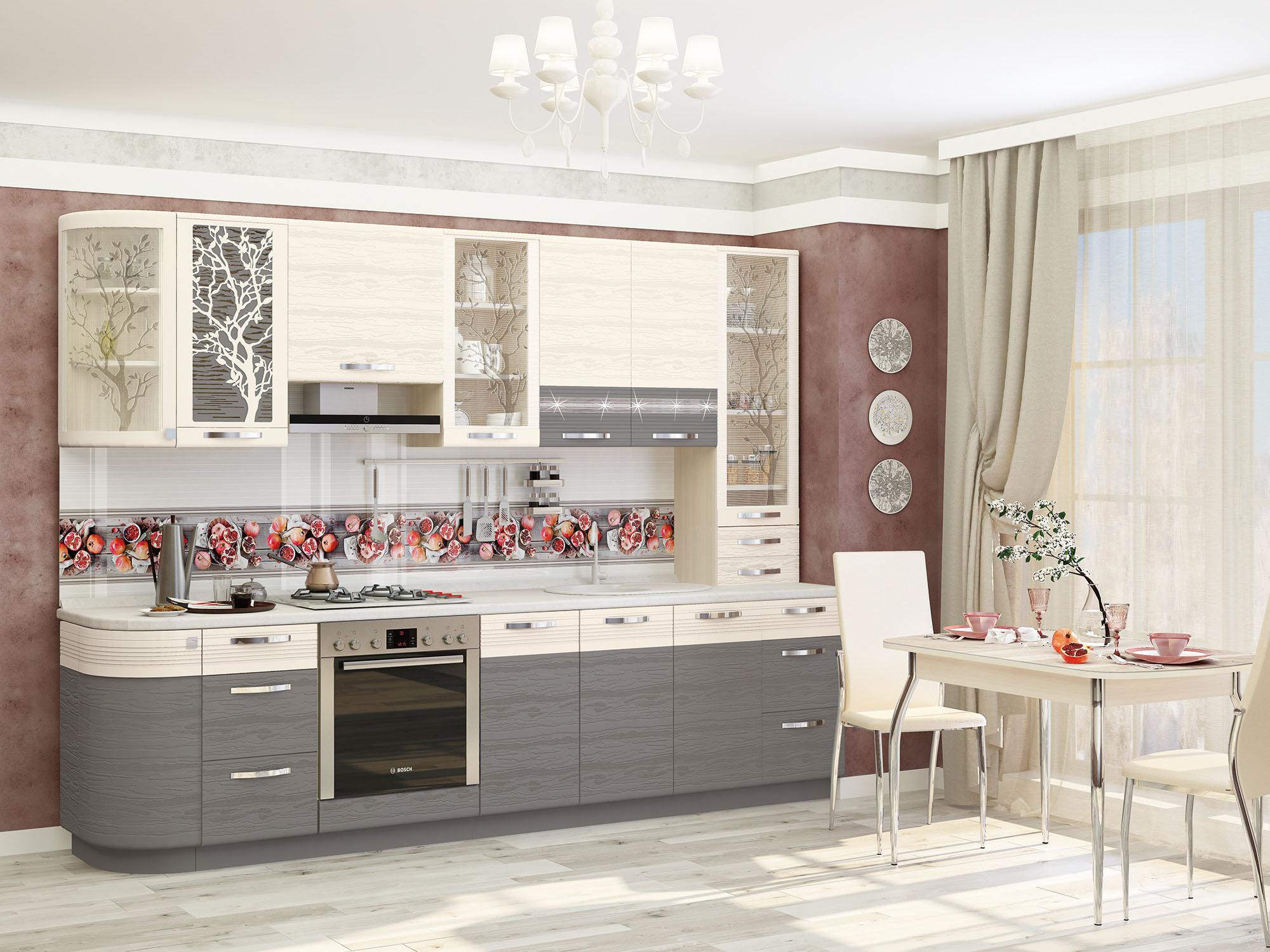 Кухня Графит 290