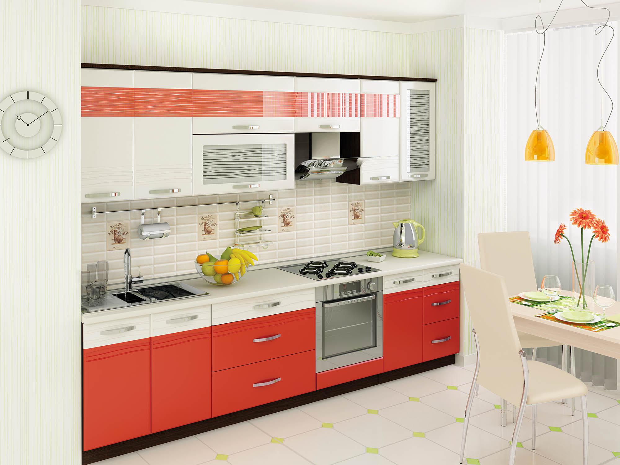 Кухня Оранж 300